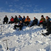 Group winter skills courses