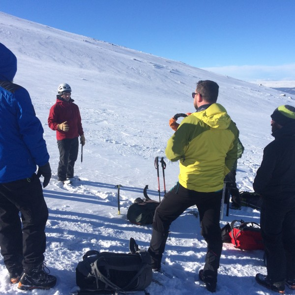Winter Skills courses