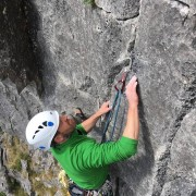 Learn to lead rock climbing