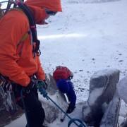 Winter Ice Climbing Scotland