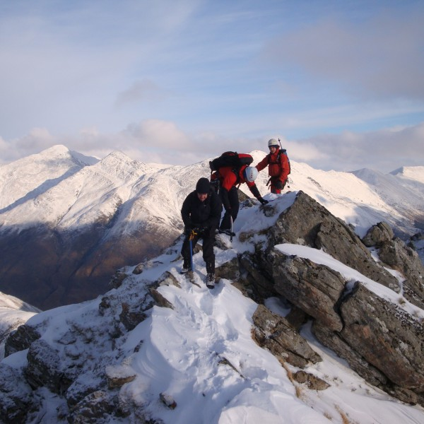 Winter Scrambling 1