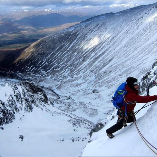 Ice climbing Scotland 2